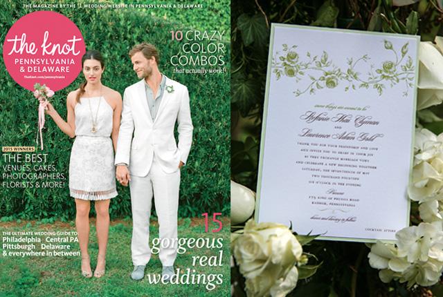 Posts Tagged Letterpress Wedding Invitations Stefanielarry Theknotmag Featured
